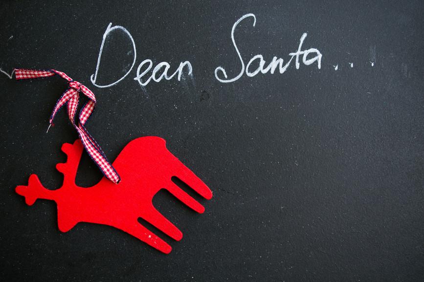 A caregiver's letter to Santa :)