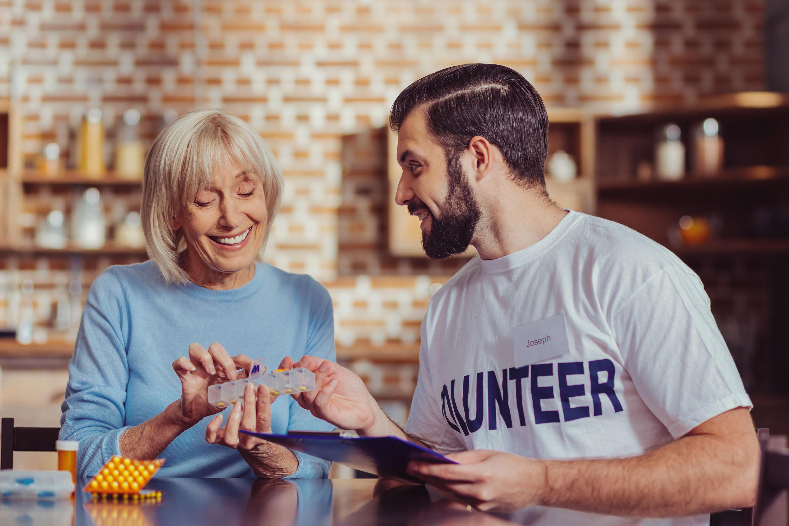 התנדבות עם קשישים