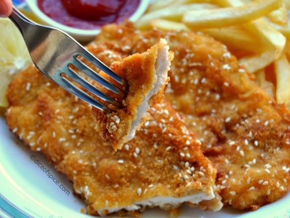 Chicken Schnitzel: The Israeli Way!