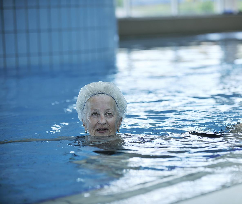 על פעילות ספורטיבית במים